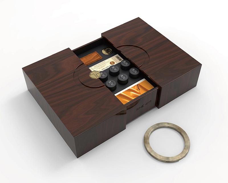 茶酒礼盒包装设计