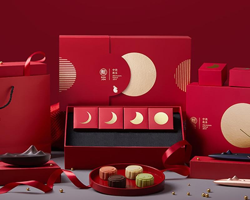 月缺月圆中秋月饼礼盒
