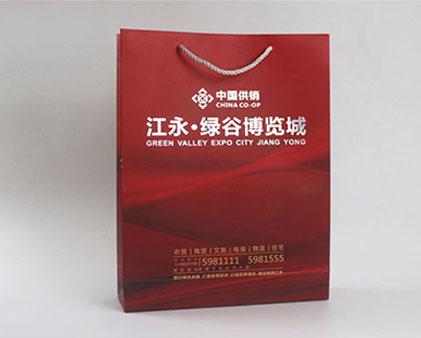江永绿谷博览城手提袋