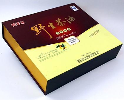 野生茶油包装