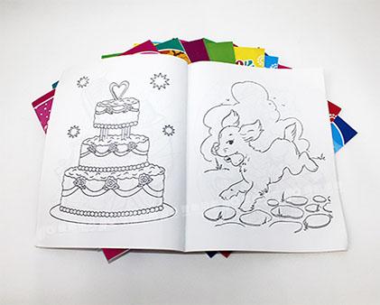 儿童彩色画册