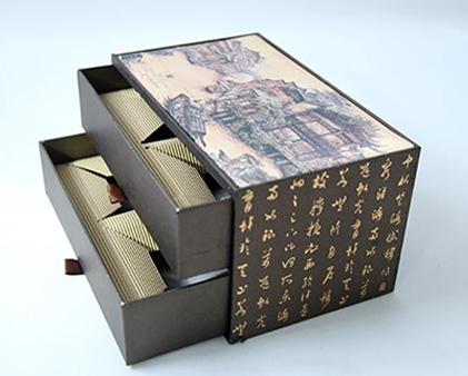 双层抽屉盒包装