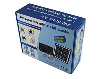 太阳能灯具包装盒