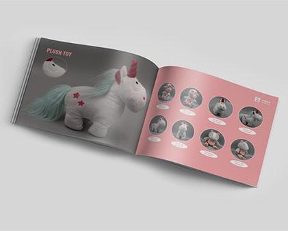 毛绒玩具画册