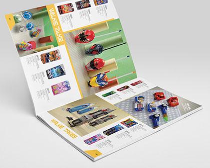 中润电子玩具画册