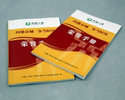 中国人寿荣誉手册