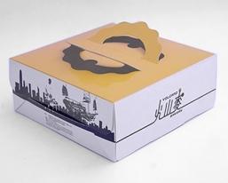 火山麦包装盒