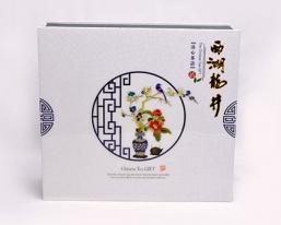 西湖龙井精品礼盒印刷