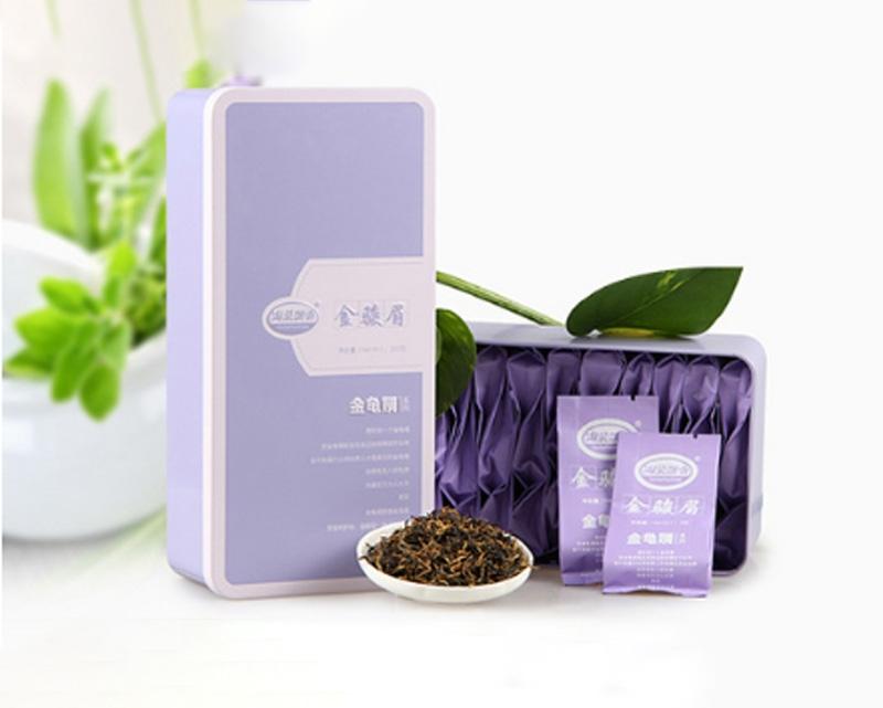 铁盒装礼盒茶