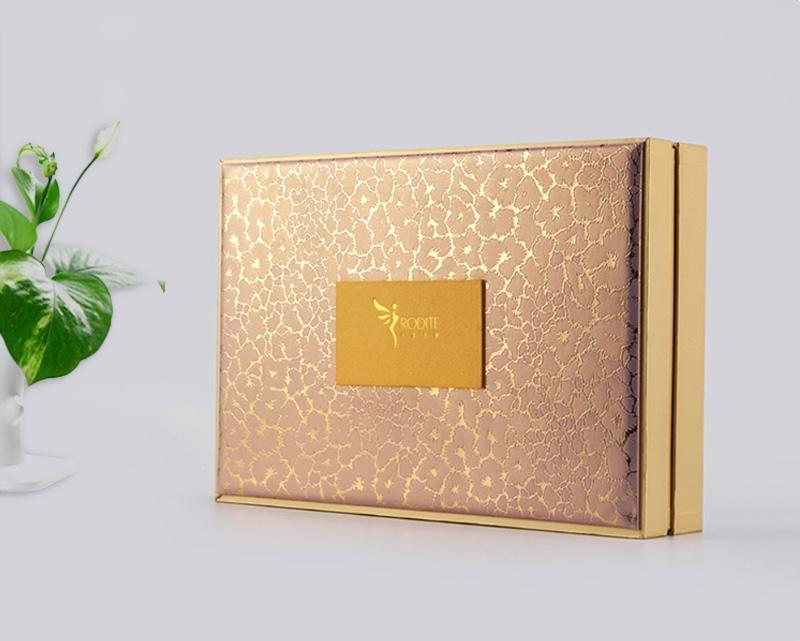 金色化妆品礼盒