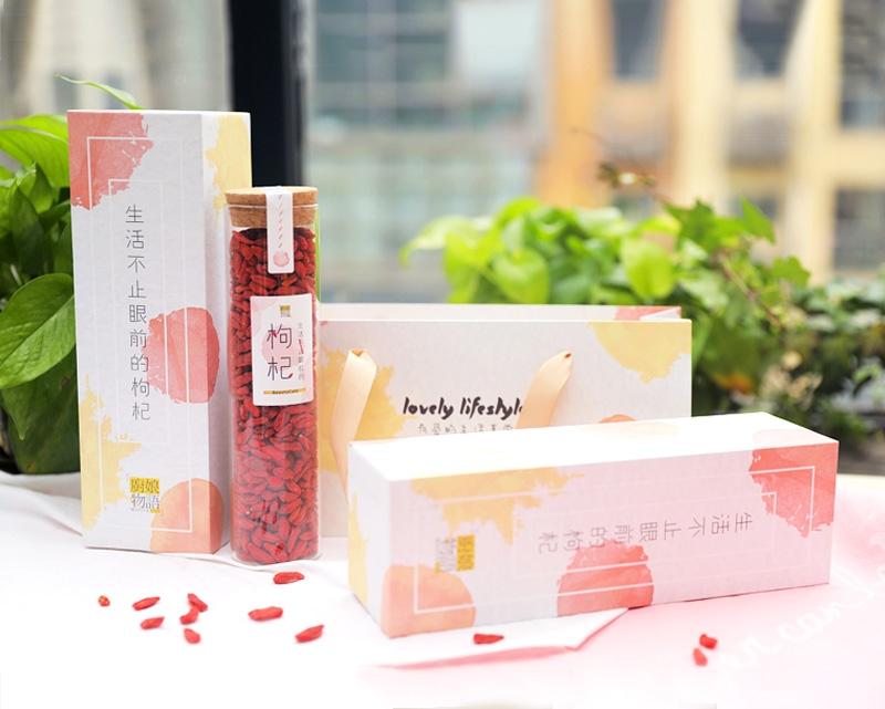 厨娘物语枸杞礼盒包装