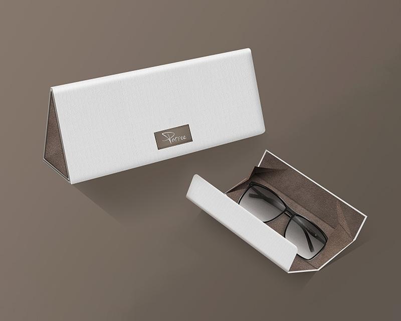 三角眼镜盒包装