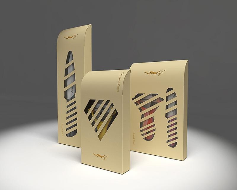厨房刀具包装设计