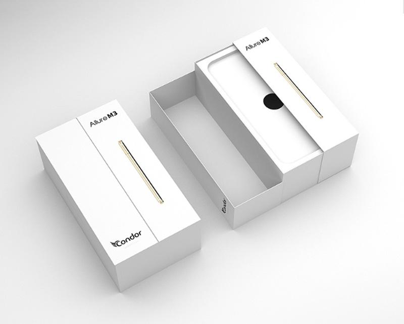 简约智能手机包装盒设计