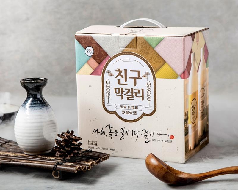 米酒包装设计