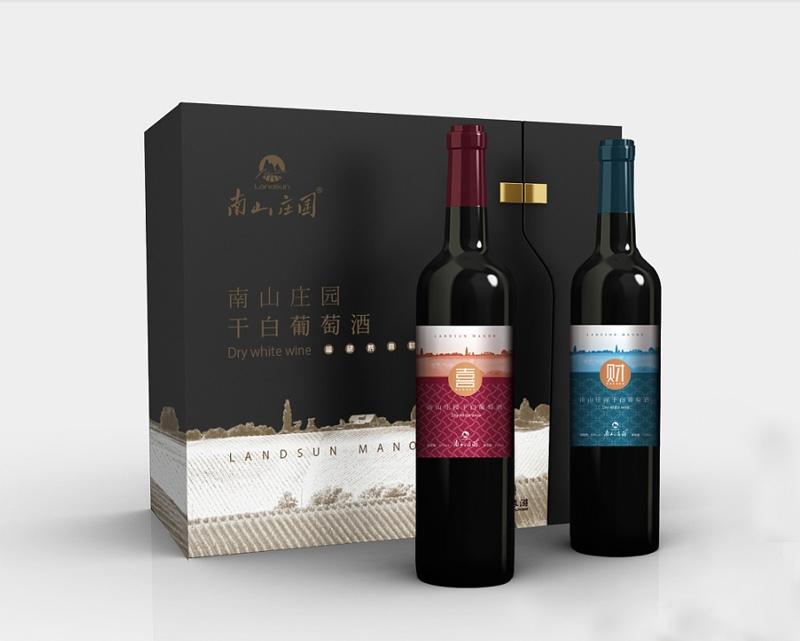 南山庄园葡萄酒包装