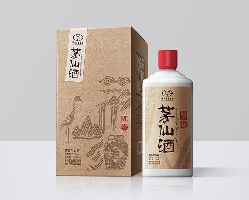 茅仙酒复古包装
