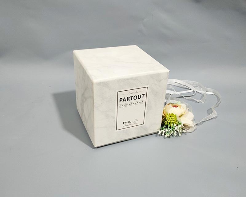 大理石纹方形礼盒
