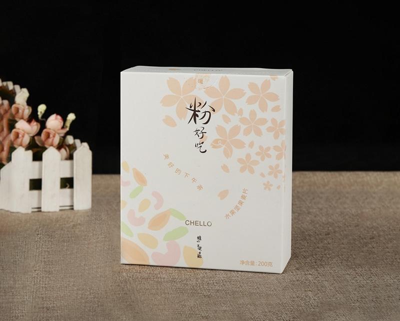 下午茶水果坚果片包装盒