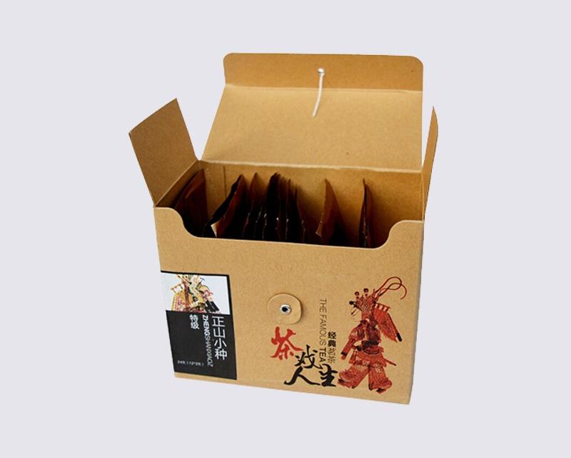 茶戏人生茶叶包装盒