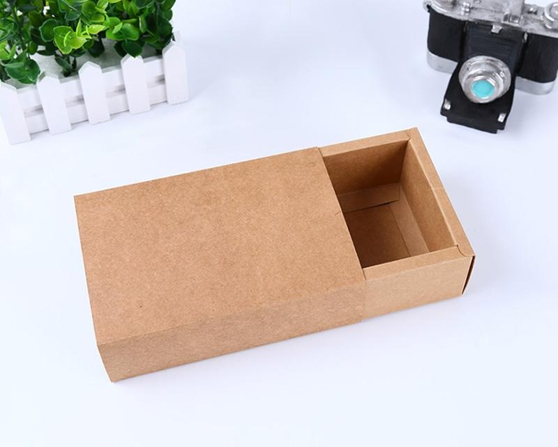 牛皮纸抽屉盒