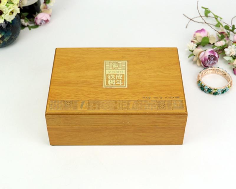 木制喷漆工艺礼品盒保健品盒