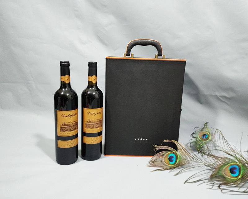 红酒皮质礼盒