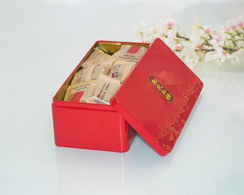 郭氏姜枣红糖铁盒包装盒