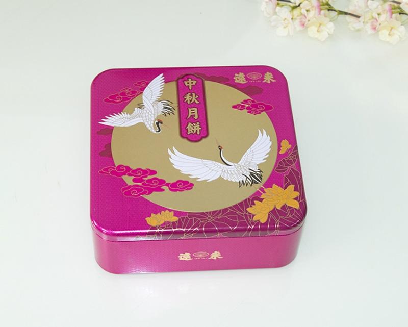 中秋月饼铁盒包装