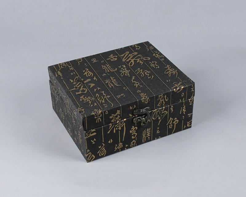 寿山石料印章包装礼盒