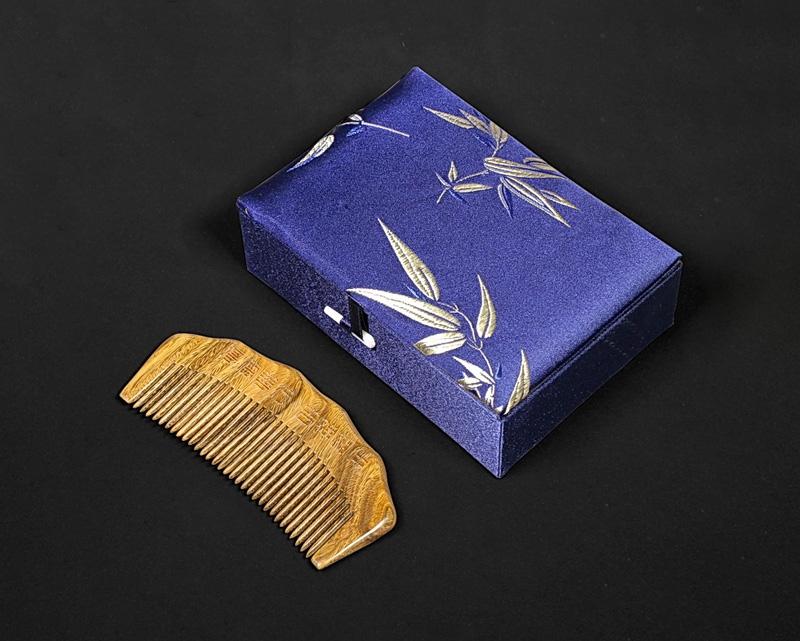 桃木梳礼盒包装盒