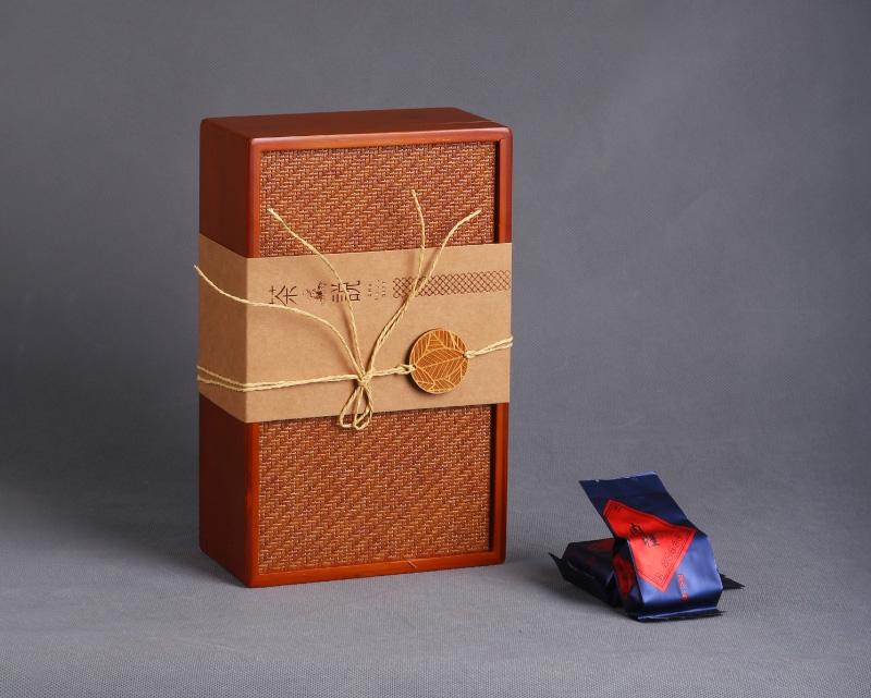 茶说系列岩茶竹质礼盒