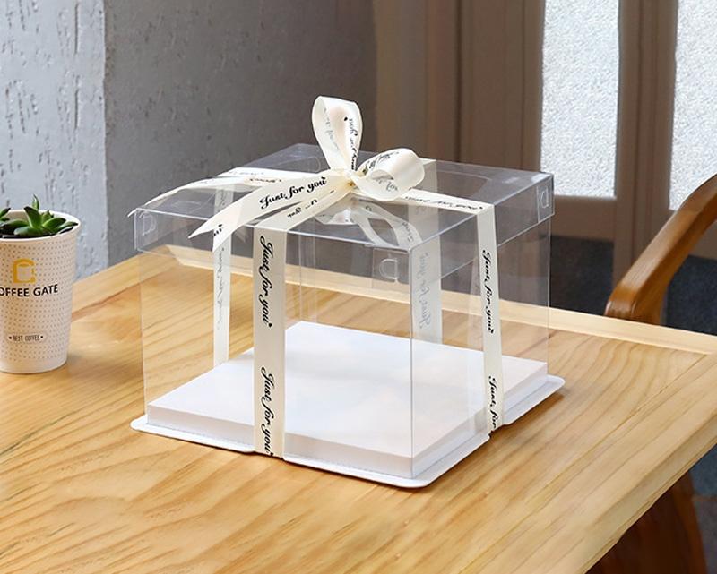 透明生日蛋糕包装礼品盒