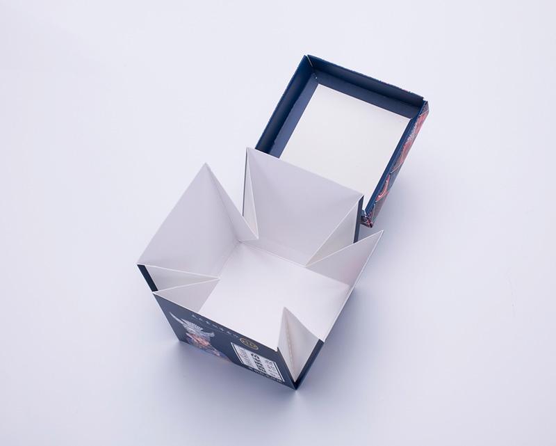 精致爆炸盒折叠盒包装盒