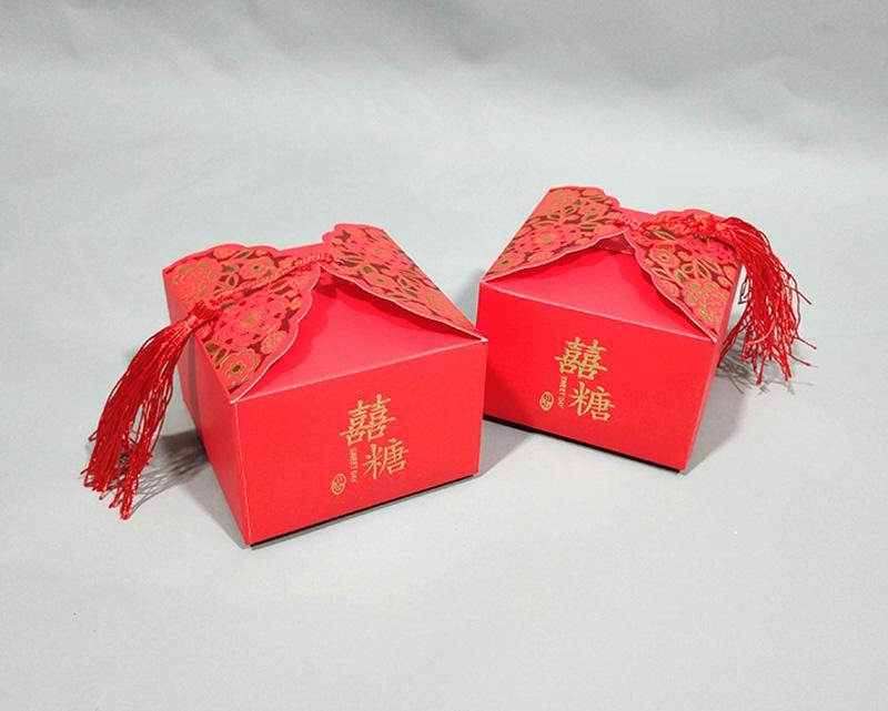 婚庆糖果盒包装盒