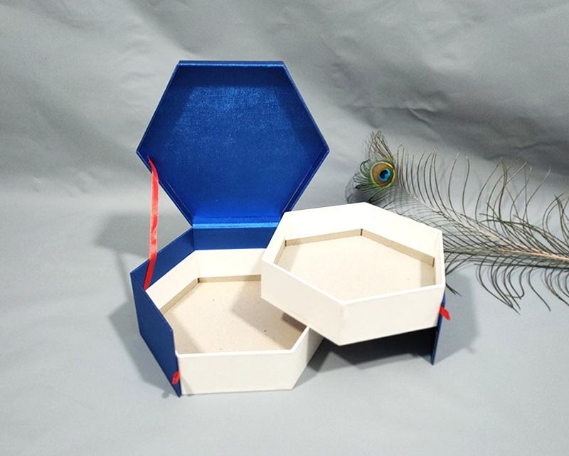 六边形双层礼盒