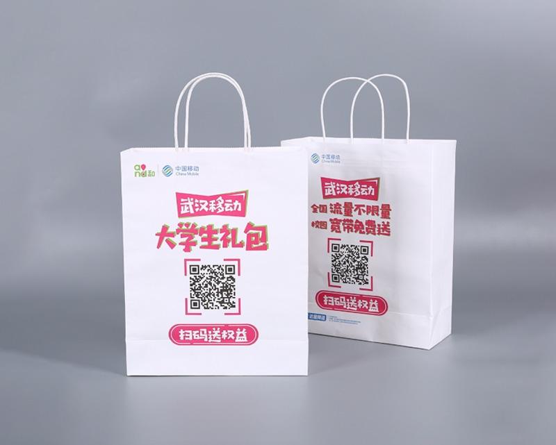 中国移动学生大礼包手提袋