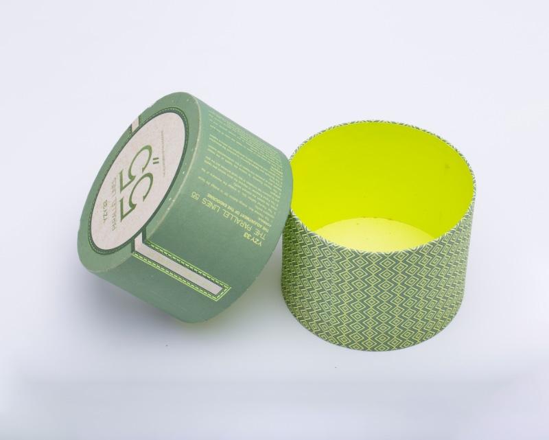 圆筒茶叶盒