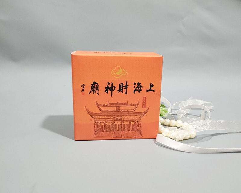 上海财神庙礼品包装盒