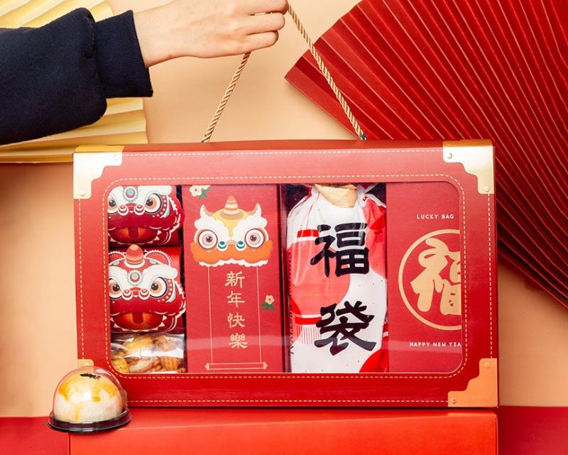 2021年货包装盒新年礼物礼盒